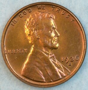 1936-S-Lincoln-Wheat-Cent-UNCIRCULATED-UNC-SAN-FRANCISCO-FAST-S-amp-H-34026