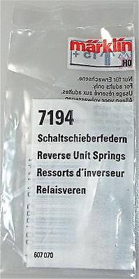 5 Schaltschiebefedern In Sacchetto Märklin 7194 H0 1/87 #lf2 Μ Una Custodia Di Plastica è Compartimentata Per Lo Stoccaggio Sicuro