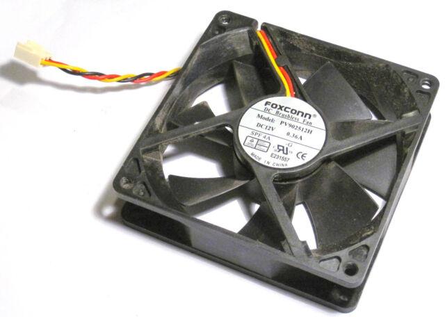 PVB080G12H Foxconn 12V 060A DC Brushless Fan 1 year warranty