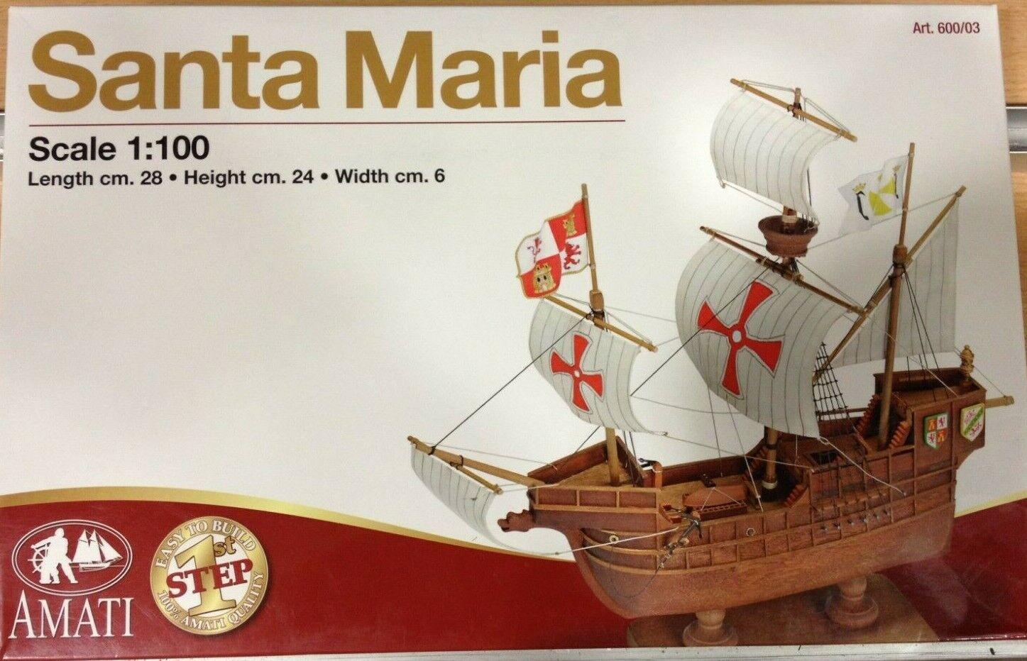 AMATI kit Santa Maria,Ref.600 03,escala.1 100