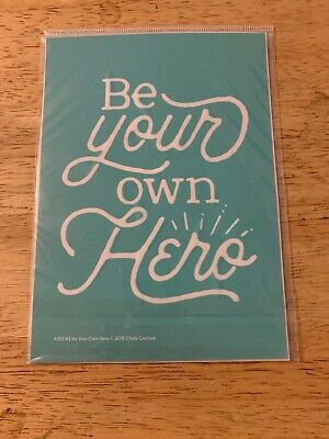 New Chalk Couture Transfer Be Your Own Hero