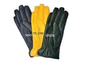 Womens-Genuine-Nappa-Sheepskin-Leather-Lined-Gloves