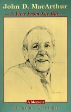 John D. Macarthur : A View from the Bar: A Memoir by Bob Stanford (1996, Paperb…