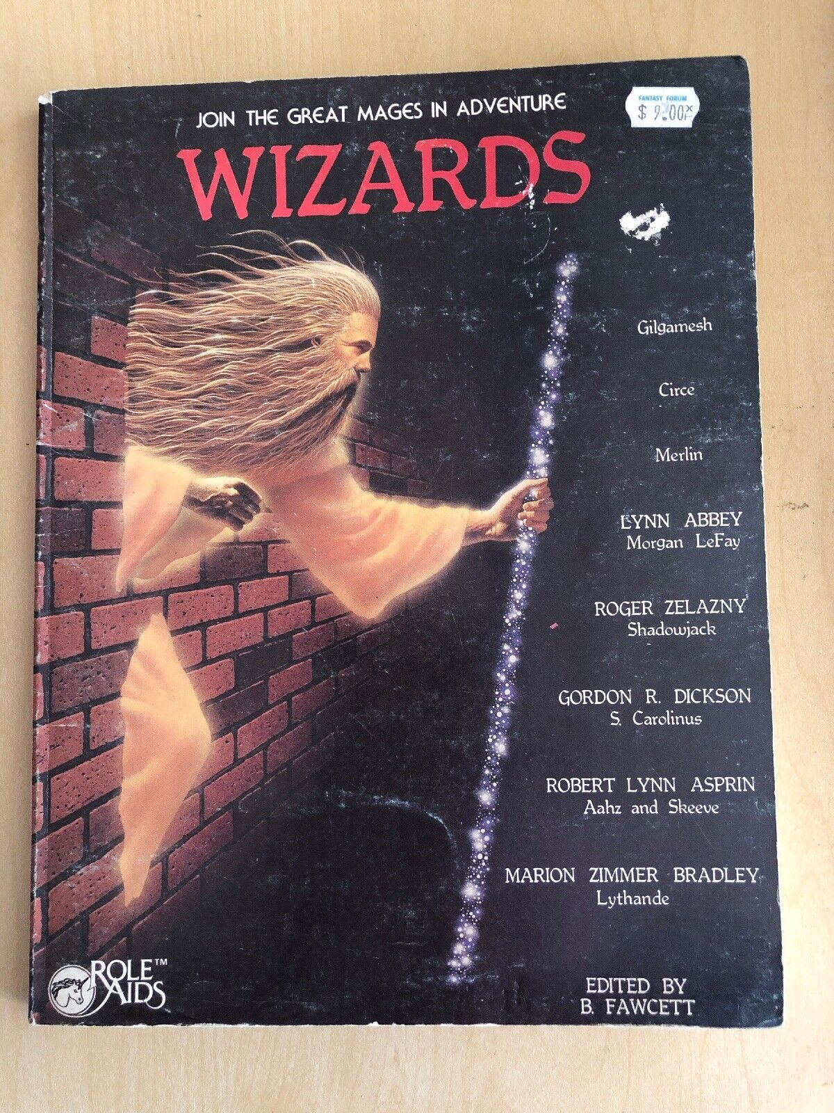 Join the Great Mages in Adventure WIZARDS Dungeons and Dragons D&D Book 1983
