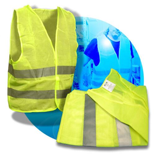 Warnweste Weste Warnschutzweste EN ISO 20471 KLASSE 2 Sicherheitsweste Gr.XXL
