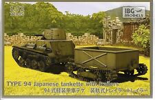 IBG Type 94 Japanese Tankette with Trailer in 1/72 72045 ST