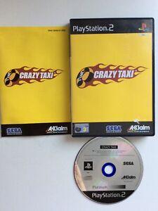 playstation 2 ps2 Crazy Taxi