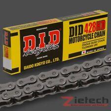 DID Motorrad Kette Offen Clipschloss X-Ring 520 VX2 104 Glieder Stahlfarben