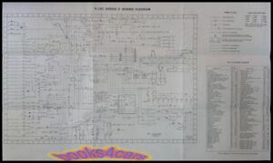 jaguar xj6c electrical wiring diagram wall chart manual ebay rh ebay com 1975 Jaguar XJ6C Parts 1975 Jaguar XJ6C Parts