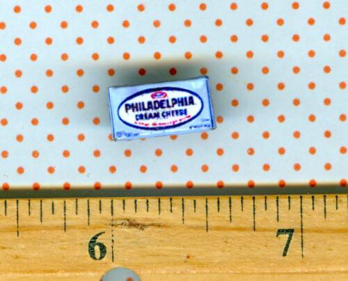 Dollhouse Miniature  Size  Cream Cheese Box