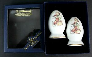 M-J-Hummel-Salt-amp-Pepper-Shakers-Wanderbub-The-Merry-Wanderer-Germany-New-In-Box