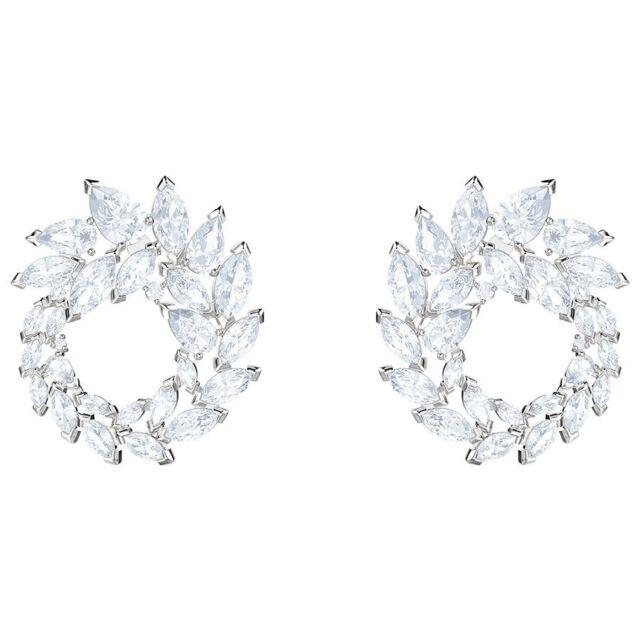 c4cdd5de2aa8e3 Swarovski 5419245 Louison Hoop Pierced Earrings Authentic for sale ...