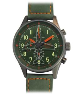 Orologio-Uomo-Vintage-Cronografo-Sportivo-Militare-Acciaio-Subacqueo-Quarzo-MEC