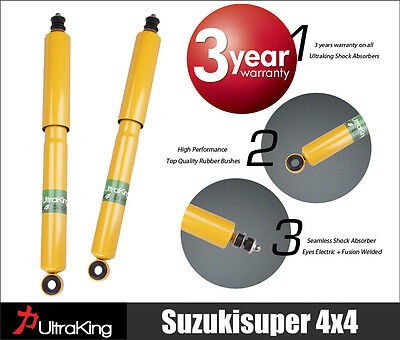 2 Extended Toyota Landcruiser Gas Shock Absorbers Front 50mm lift Kit 1980-1999