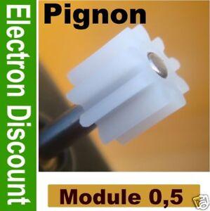 Pignon-8-dents-pour-moteur-locomotive-Jouef-lot-de-2