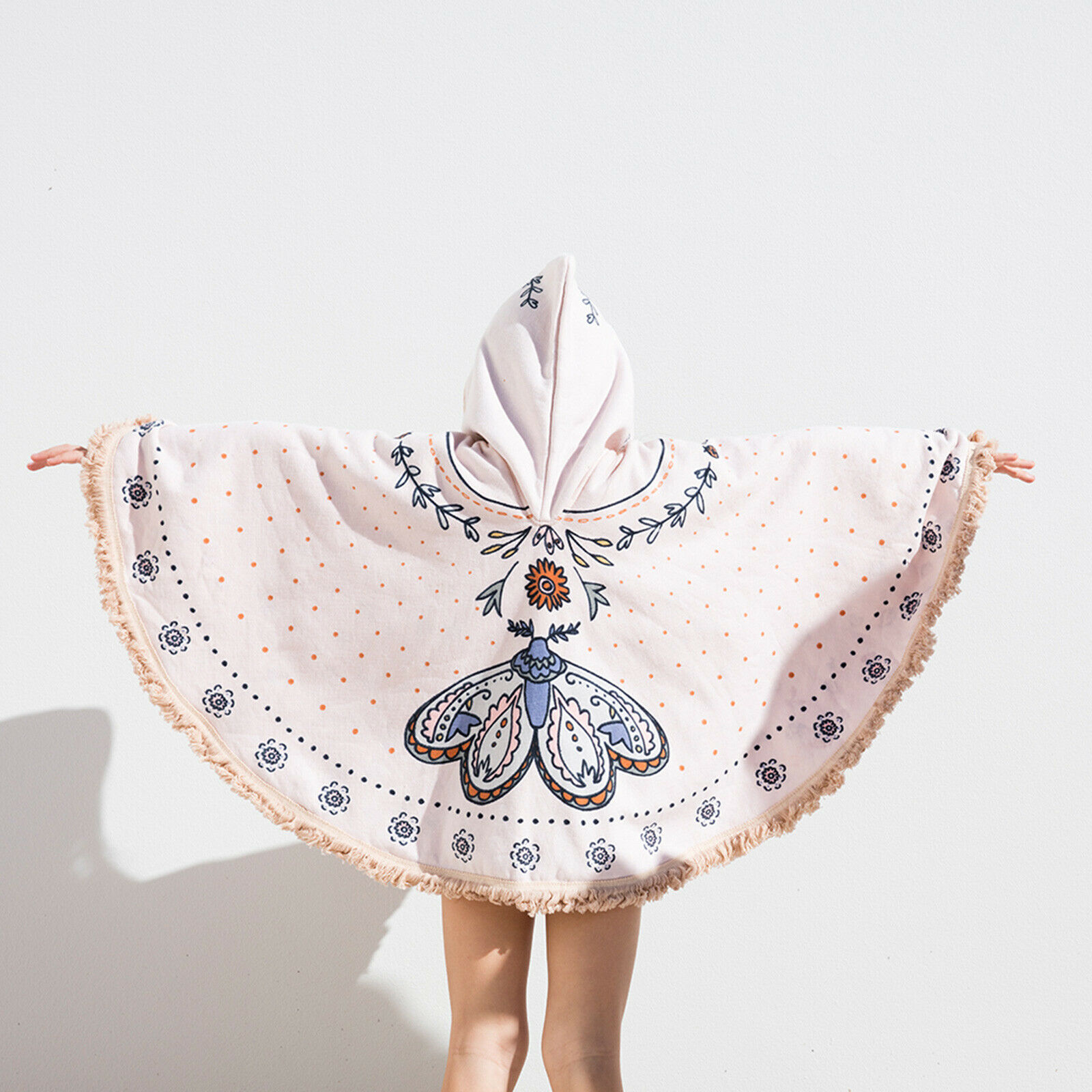 The Beach People Butterfly Petite Poncho Coverup