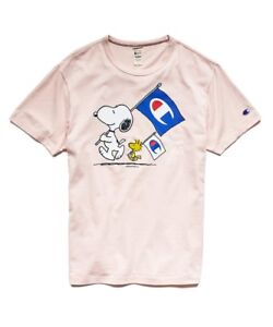 df609493 Image is loading Todd-Snyder-Champion-Peanuts-Snoopy-Woodstock-Flag-Men-