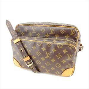 Louis-Vuitton-Shoulder-bag-Monogram-Brown-Woman-Authentic-Used-M846