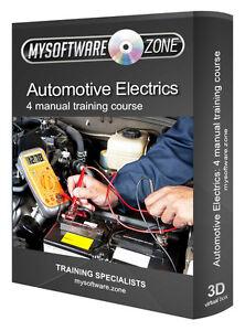 Automotive-Electrics-4-Manual-Training-Course-on-CD-Maintenance-System-Repair
