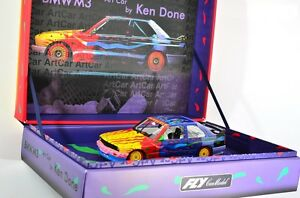 1 32 Slot Racing Fly Car Model 99022 Bmw M3 E30 Art Car Ken Done Ebay