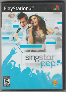 SingStar: Pop Bundle (Sony PlayStation 2, 2007, with Microphones) 🎄