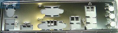 Asus I/o Io Shield Blende Bracket P8h67-m Le, P8h77-m Le, P8h67-m Le (3.0) Neu Ideales Geschenk FüR Alle Gelegenheiten