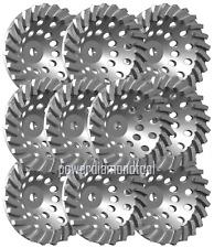 10pk 7x24seg Power Diamond Cup Wheel Concretestoneblock Grinding Best