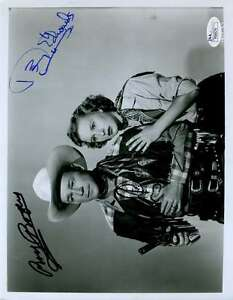 Roy Rogers Penny Edwards Jsa Signed 8x10 Photo Authenticated Autograph