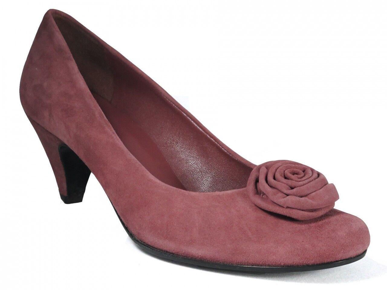 Ana Bonilla Women's Dressy Italian Suede Leather  shoes 4553