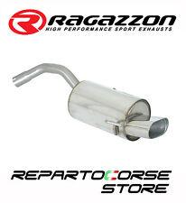 RAGAZZON SCARICO TERMINALE OVALE 128x80mm ALFA ROMEO 147 1.6 16V 88kW 120CV