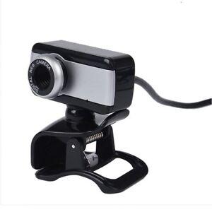 USB-Camara-Web-con-MIC-CD-para-PC-de-escritorio-Negro-E2K8
