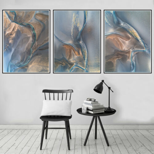Abstract Modern Canvas Ink Painting Poster Picture Wall Hangings Home Art Decor
