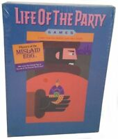Life Of The Party Game Mystery Of The Mislaid Egg1987 Milton Bradley Sealed