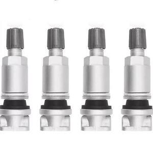 peugeot 407 607 807 citroen c4 c5 tpms tyre pressure sensor valve repair kit x4 ebay. Black Bedroom Furniture Sets. Home Design Ideas