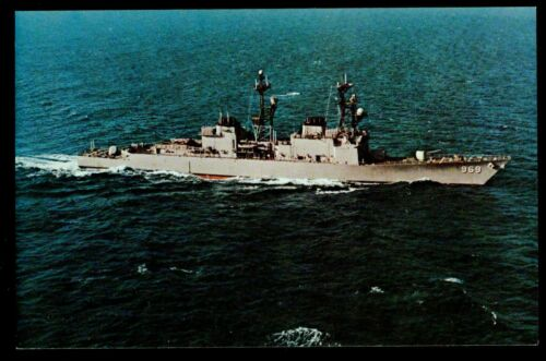 USS Peterson DD-969 postcard US Navy ship  Destroyer