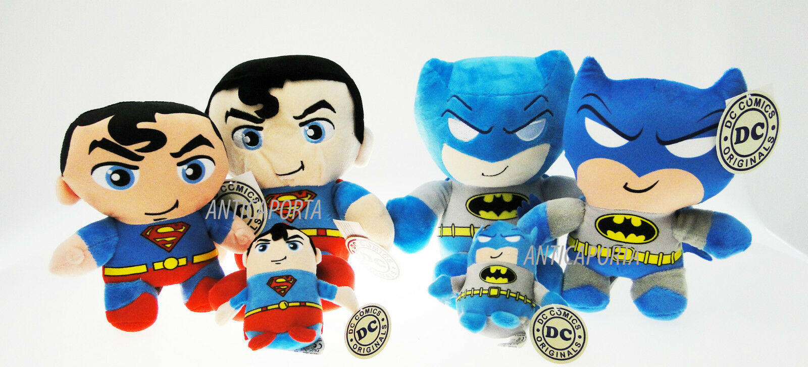Soft toy Batman V Superman Original DC Comics all sizes also keychain