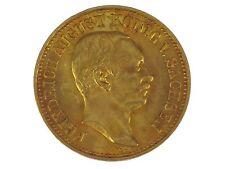 Kaiserreich 10 Mark Gold 1912 Friedrich August König von Sachsen