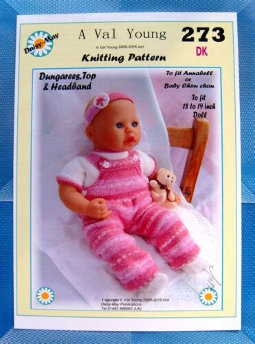 1 DOLLS KNITTING PATTERN *ANNABELL* BY DAISY-MAY* No.273