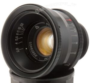 Jupiter-12-35mm-f2-8-UdSSR-Objektiv-M39-LTM-Leica-M-Fed-Zorki-RF-Kamera-35-2-8-Biogon