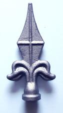 10 Stück Zaunspitzen Zaunelement ZS092 Zierspitzen Metall