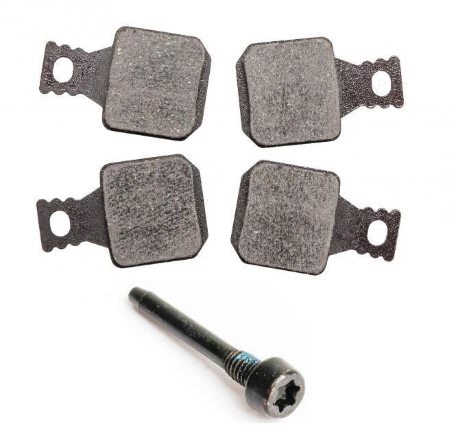 1 Paar Magura 8.1 Bremsbeläge mit Belaghalteschraube für MT5 MT7 - Frische Ware