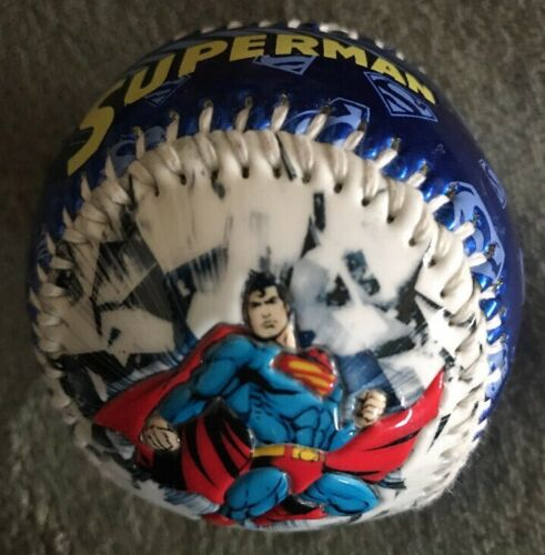 SUPERMAN DC Comics Officially Licensed Souvenir Promotional Baseball ⚾️ Ball A