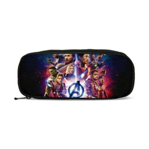 Marvel Avengers Schoolbag Backpack Insulated Lunch Bag Pen Bags Wholesale Purses