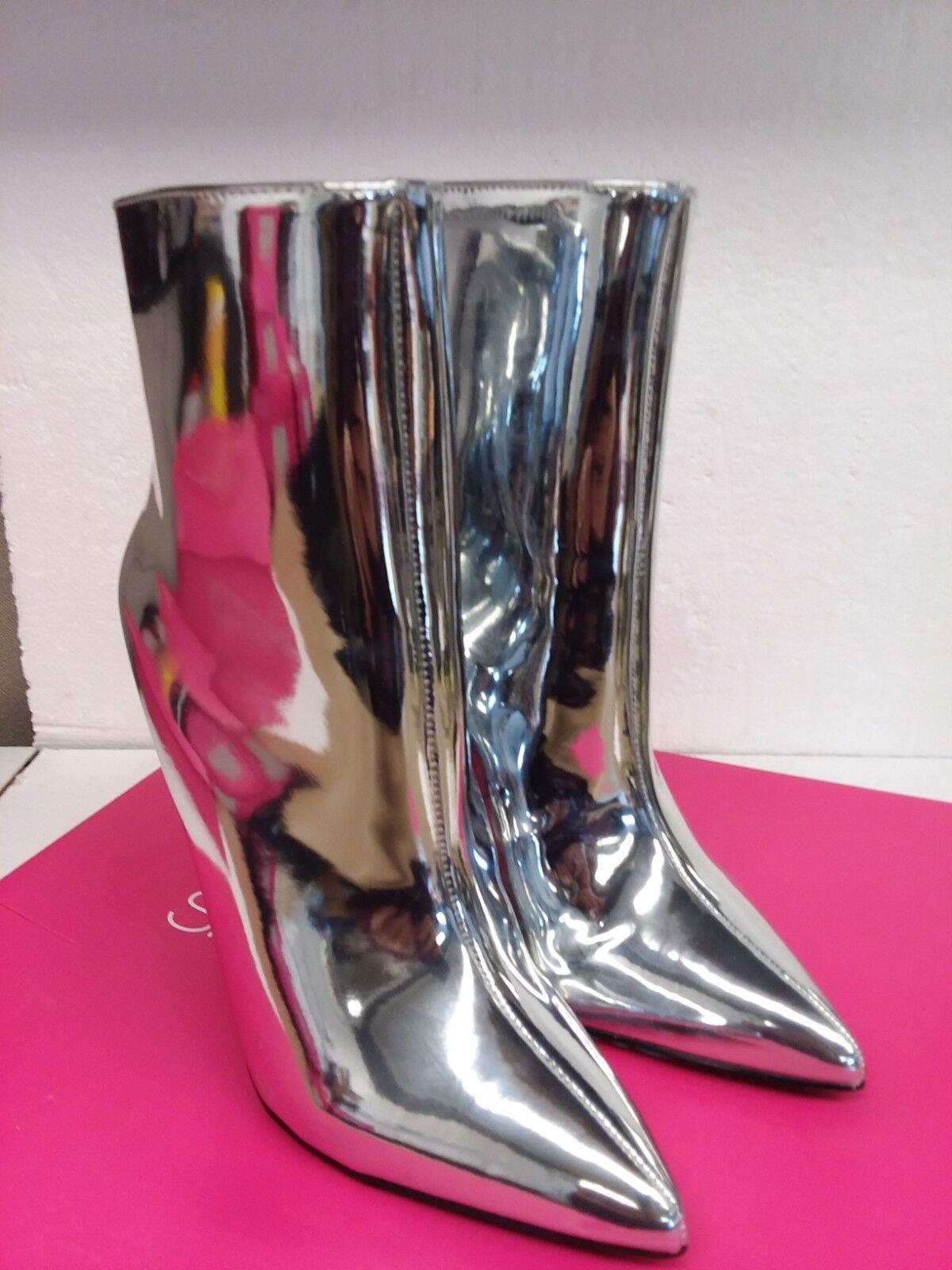 shoesdazzle BREANNE Stiletto Heel Bootie Size 7