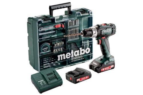 Chargeur artisans valise Metabo BS 18 L Set Batterie-percussion 2x18v 2ah Batteries