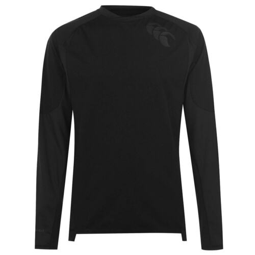 Canterbury Mens Tech Top Baselayer Compression Armor Thermal Skins Long Sleeve
