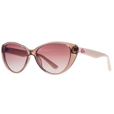 Genuine Lacoste Kids Sunglasses Cat Eye L3602S-662 Gradient Lens ROSE PINK