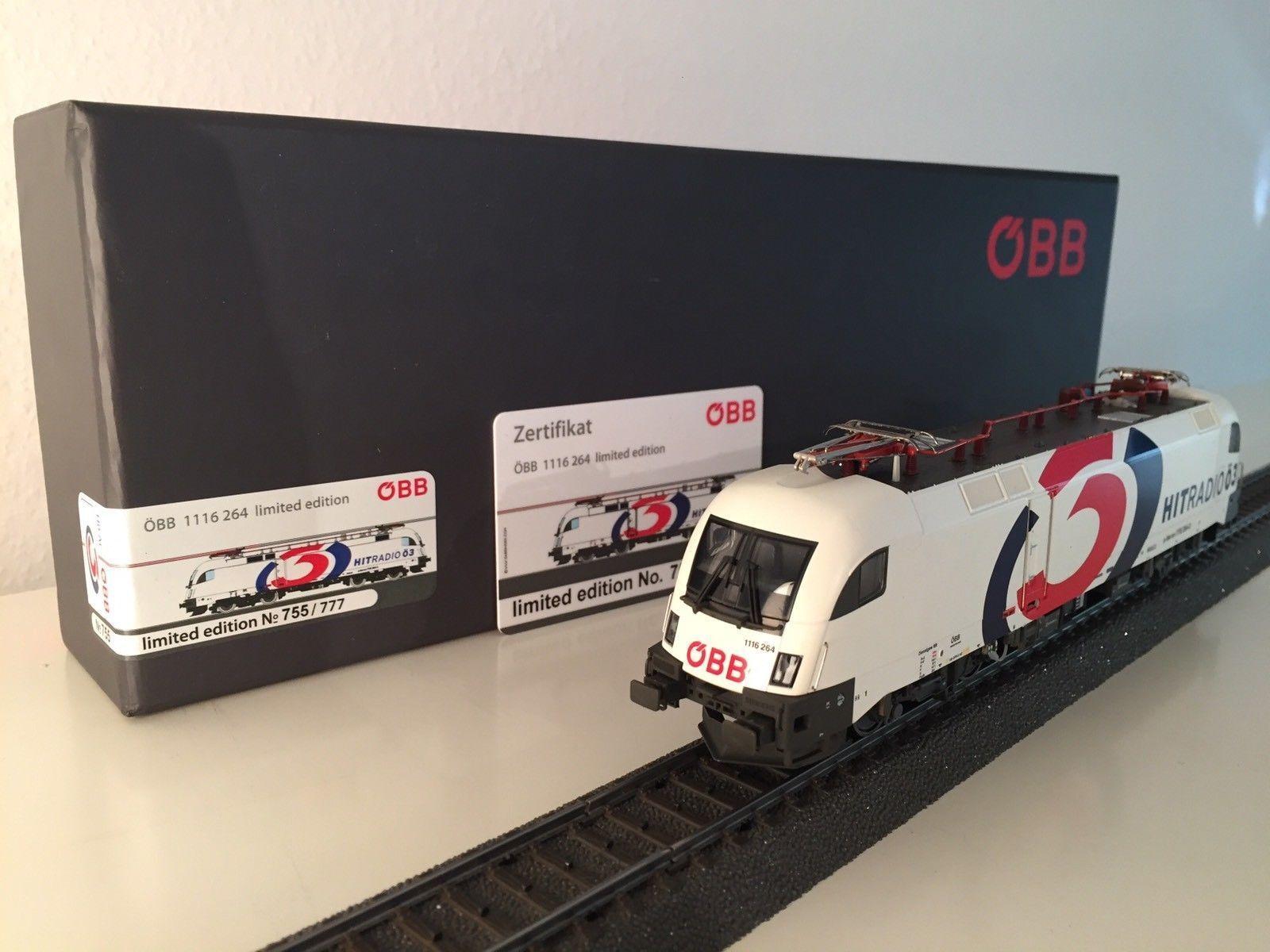 Taurus roco Rail ad ac-br 1116 264-3 ÖBB-KZTS ö3-digital mercancía nueva ausverka
