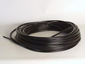 1-Metres-Bowden-Etui-Universel-Compteur-7mm-Velomoteur-Cable-sous-Gaine-Noir