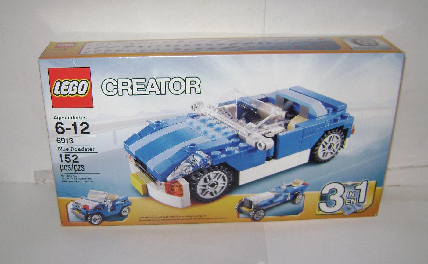 nuovo 6913 Lego CREATOR blu stradaster 3 in 1 costruzione giocattolo SEALED scatola RETIrosso A